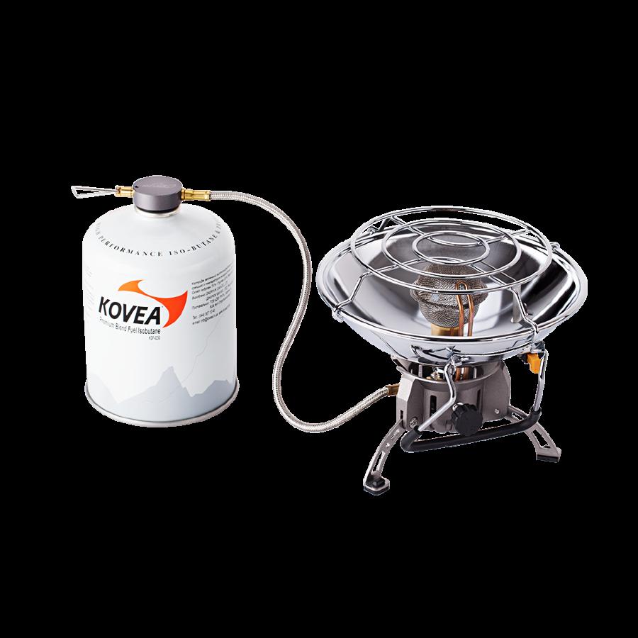 Туристичний газовий обігрівач Kovea Fireball KH-0710 з п'єзопідпалом і регулятором температури