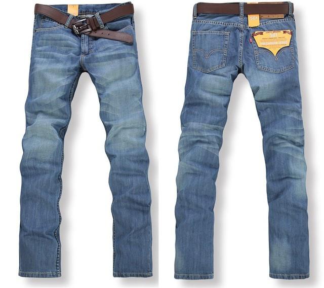 Мужские джинсы в стиле Levi`s 501 (IWEI)