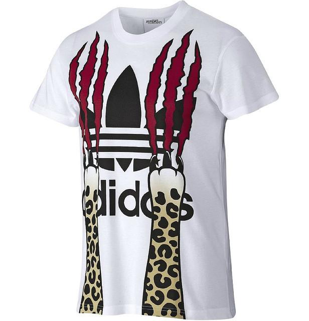 Футболка Adidas Originals Jeremy Scott Paws