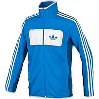 Кофта мастерка олимпийка Adidas Street Diver TT, цвет синий
