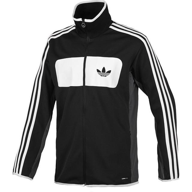 Кофта мастерка олимпийка Adidas Street Diver TT, цвет черный