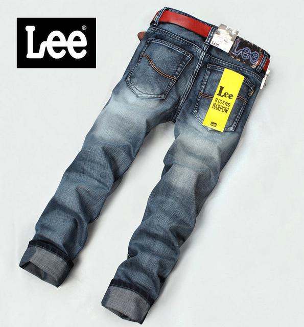 Мужские джинсы Lee Riders Narrow модель 0003, цвет серый