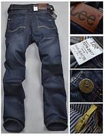 Джинсы мужские Lee Narrow, цвет темно-синий