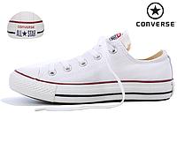 Кеды Converse All Star (Конверс), наличие, размеры, цвет белый, фото 1