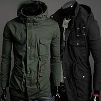 Стильная мужская куртка MSZHomme, демисезон