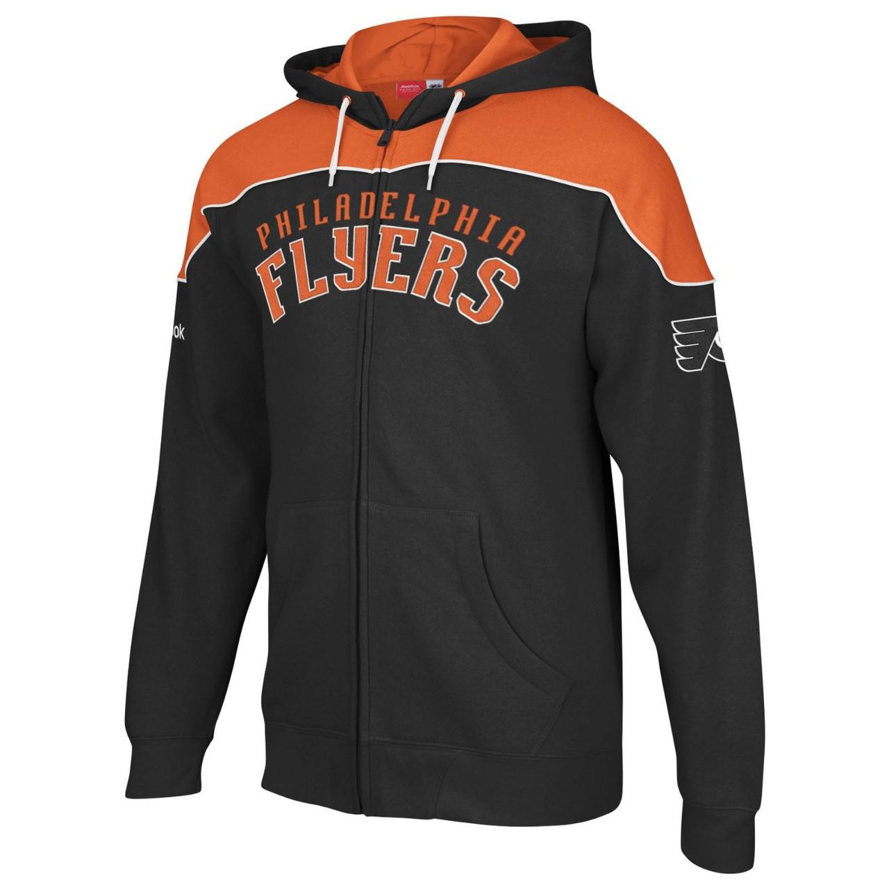 NHL кофта-капюшонка Philadelphia FLYERS от Reebok Face Off Collection