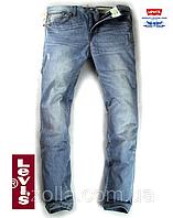 Мужские джинсы Levi`s, модель 004, светло-синие