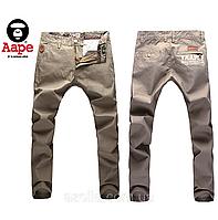 Распродажа! Мужские  зауженные джинсы  Aape