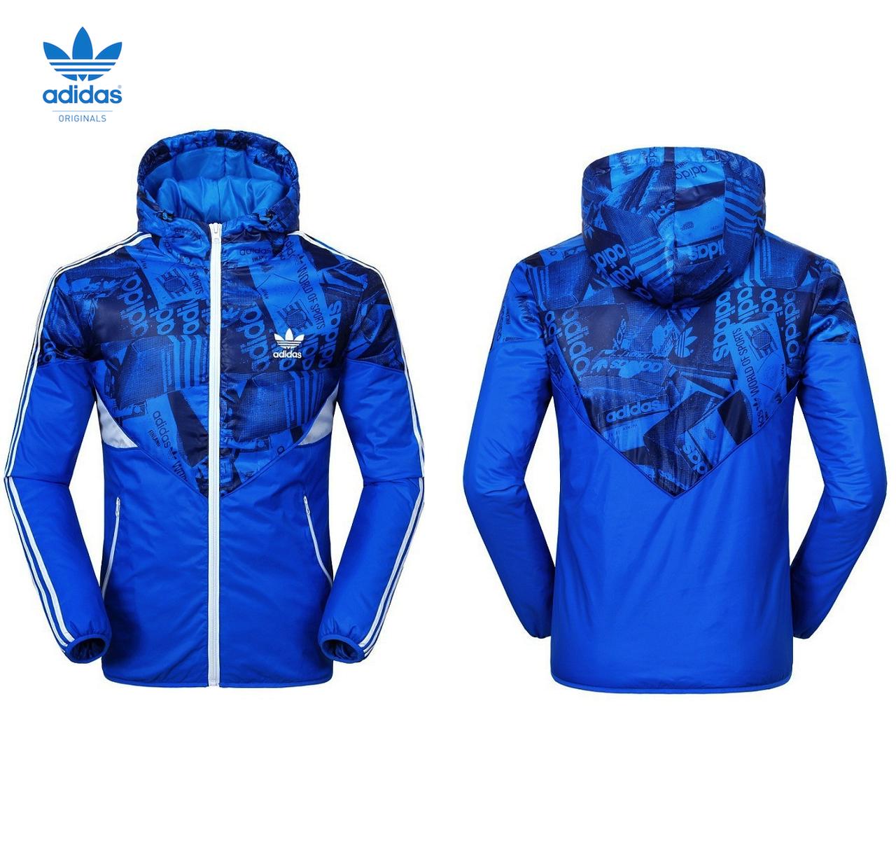 """Спортивная куртка Adidas Originals """"Boxtory Colorado"""" (с утеплителем), blue"""