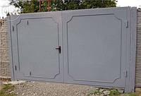 Металлические ворота для гаража под заказ в Херсоне