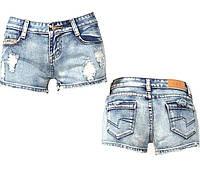 Женские джинсовые шорты A&X модель 0004