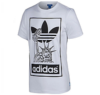 "Футболка Adidas Originals ""NYC"", белый, фото 1"
