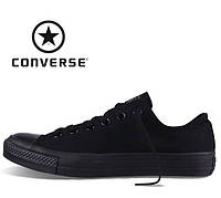 Кеды Converse All Star низкие (Конверс), наличие, размеры, цвет черый 675af8083b5