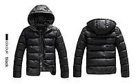 Стильная мужская куртка пуховик, дутик Justyle , фото 1