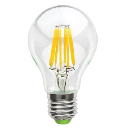 Лампа светодиодная LED FILAMENT NLL F A60 8W 230В 2700K E27 780 Lm NAVIGATOR