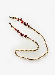 Ланцюжок для окулярів з натуральним каменем