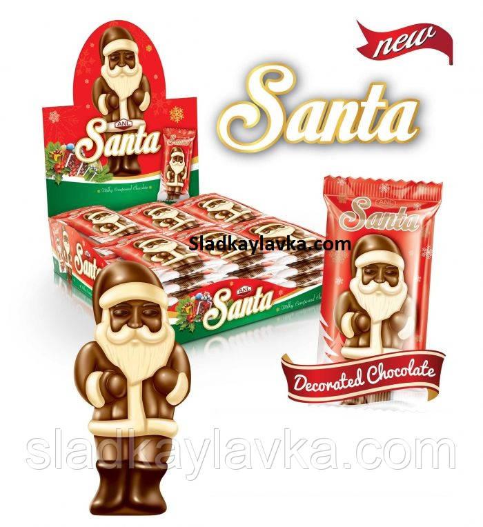 Шоколадная плитка Santa 36 шт (ANL)