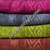 Лицевое  полотенце микрофибра Ромб с волной (8), фото 1