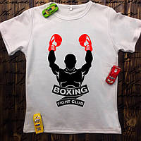 Чоловіча футболка з принтом - Boxing Fight club