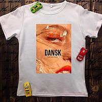 Чоловіча футболка з принтом - Dansk