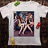 Мужская футболка с принтом - Мона Лиза с подружками
