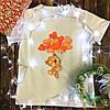 Чоловіча футболка з принтом - Ведмедик з кульками
