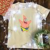 Мужская футболка с принтом - Патрик
