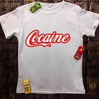 Чоловіча футболка з принтом -Cocaine