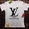 Мужская футболка с принтом -Lord Voldemort
