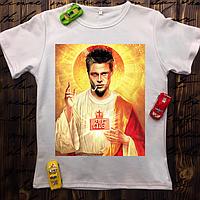 Мужская футболка с принтом - Крестный отец Божественный