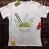 Мужская футболка с принтом - Любимый учитель математики