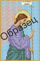 """Схема для вышивки бисером """"Святой Архангел Гавриил"""""""