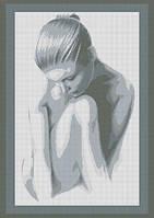 """Схема для вишивки картини  """"Ніжність""""№4001"""