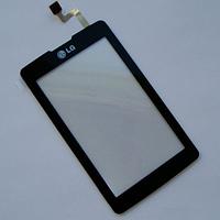 Оригинальный тачскрин / сенсор (сенсорное стекло) для LG KP500 | KP501 (черный цвет)