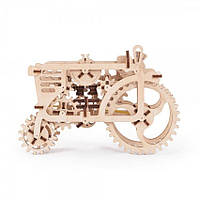 Трактор UGears (97 деталей) - механический 3D пазл, фото 1