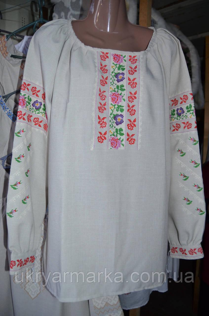 "Жіноча вишита блузка ""Загадка"""