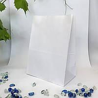 Крафт-пакет 250*150*350 белый без ручек