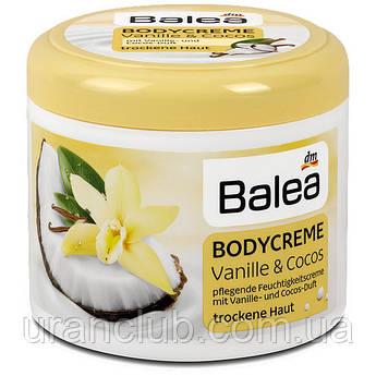Balea Bodycreme Vanille & Cocos, 500 ml - Крем для тела с кокосом