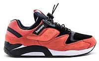 Мужские кроссовки Saucony Grid 9000 оранжевого цвета, фото 1