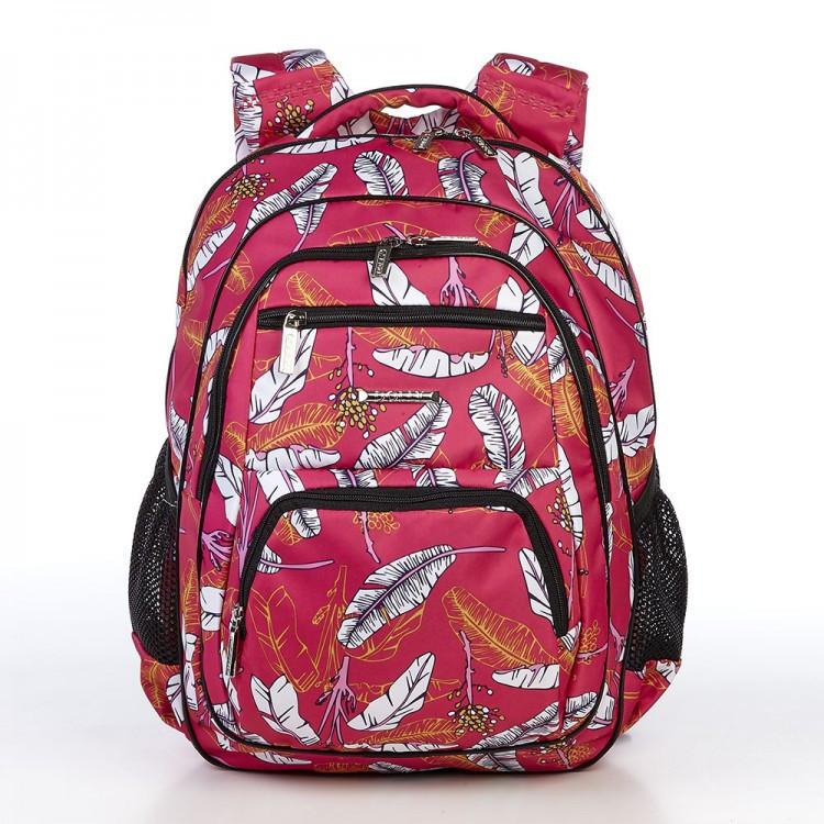 Рюкзак школьный с ортопедический спинкой для девочки с ярким рисунком  Dolly 546 39*30*22 см