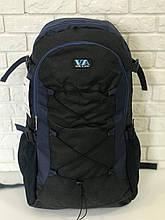 Рюкзак для похода VA T-09-3 55л Черный с синим (009233)