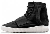 Кроссовки мужские Adidas Yeezy 750 Boost black, фото 1
