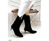 Демісезонні чоботи невеликому каблуці, фото 7