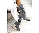 Демісезонні чоботи невеликому каблуці, фото 2