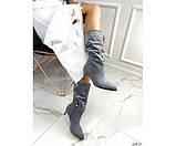 Демісезонні чоботи невеликому каблуці, фото 3