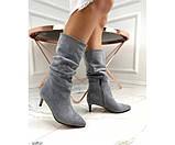 Демісезонні чоботи невеликому каблуці, фото 5