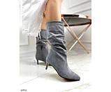 Демісезонні чоботи невеликому каблуці, фото 6