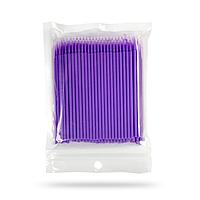 Мікробраші в пакеті головка маленька, фіолетові (100шт), фото 1