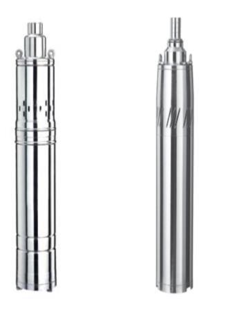 Скважинный  шнековый  насос  124QJD 1.8-100