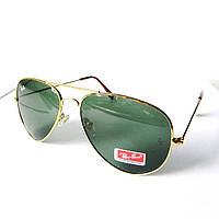 Очки солнцезащитные aviator RB3025 gold